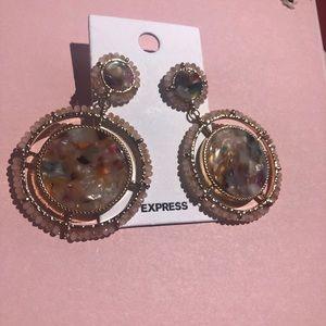 Express Statement Drop Earrings